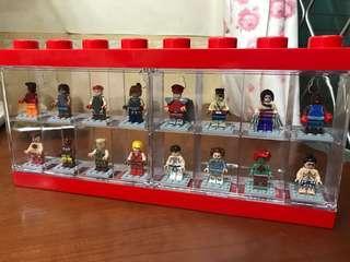 不是Lego,街頭霸王人仔一套16隻(盒是正版)