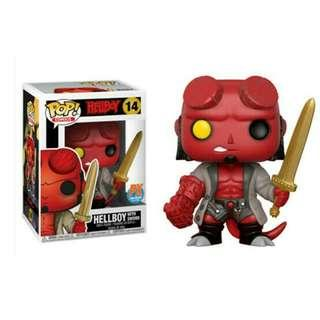 Hellboy With Sword PX Previews Exclusive Funko Pop