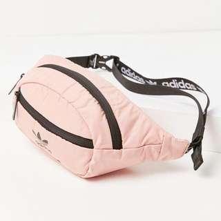 Adidas National Waistbag Salmon Pink Instock