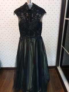 Elegant Hand Crafted Evening Gown