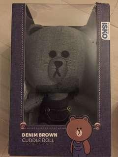 21 cm denim brown