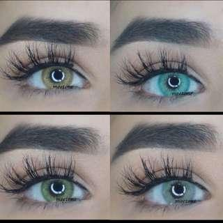 Huda beauty Wake And Bake Contact Lens Just Like Solotica
