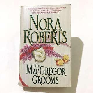 NORA ROBERTS - The MacGregor Grooms - D.C. , Duncan , Ian