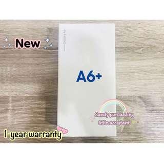 Samsung A6Plus空機 金色 可面交 全新 公司貨 A6Plus手機 三星 A6+空機 現貨 保固中 A6PLUS