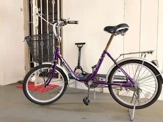 Urata bicycle with basket