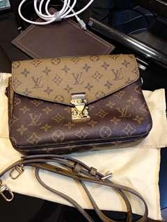 Louis Vuitton metis monogram reverse