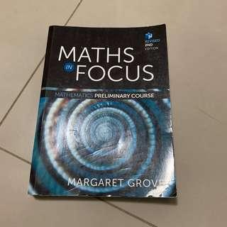 Preliminary HSC Course Maths In Focus