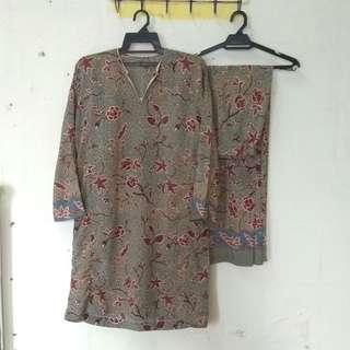 Printed Baju Kurung