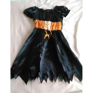 Halloween Costume万圣节裙 女童(身高90-120cm)