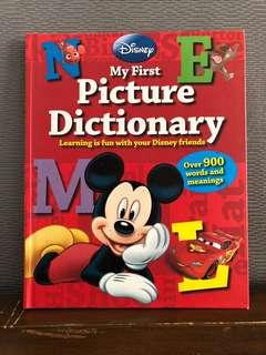 My First Picture Dictionary (hardbound, good as new)