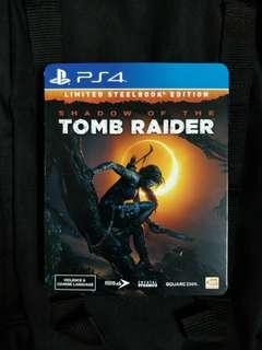 PS4 Shadow of The Tomb Raider (Steelbook)