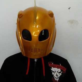 Rocketeer motorcycle motorbike real helmet