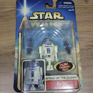 R2D2 Star Wars Attack Of The Clones