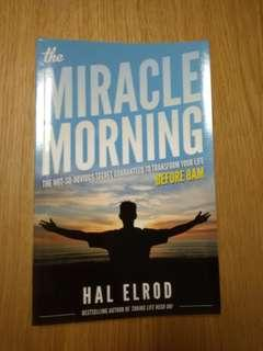 *Free Postage* The Miracle Morning by Hal Elrod (paperback)