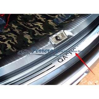 Nissan Qashqai MK1, 2007-2009 2011- 2013  back rear trunk Sill Scuff Plate Protection pedal