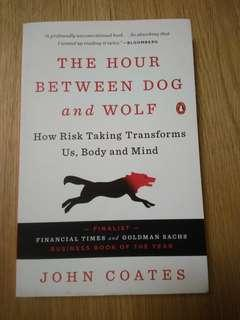 *Free Postage * The Hour Between Dog and Wolf by Prof John Coates (paperback)