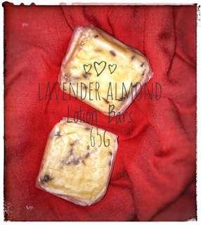 Lavender Almond Lotion Bar