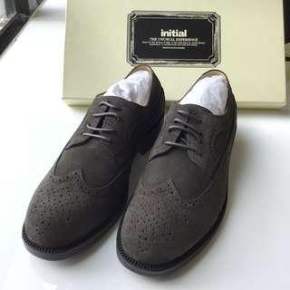 INITIAL leather shoes 男裝皮鞋