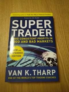 *Free Postage * Super Trader by Van K. Tharp (hardcover)