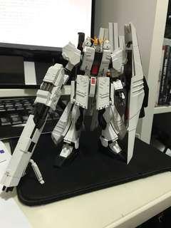 Hi-v gundam 模型全上色