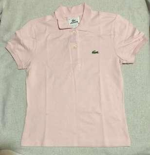 Lacoste Pink Shirt for Girls