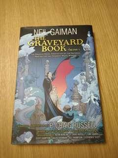 *Free Postage * The Graveyard Book Graphic Novel Vol 1 by Neil Gaiman (hardcover)