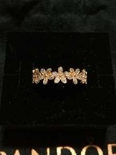 Brand New Pandora Rose Dazzling Daisy Chain Ring