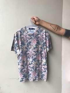 Topman Slim Fit Floral Shirt