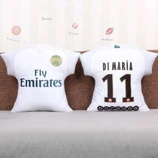 ⚽️⚽️ Psg, Barcelona, Juventus and various clubs soccer cushions!!
