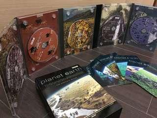 Planet Earth DVD (The Complete Set Series) w/Post cards - 99.9% New