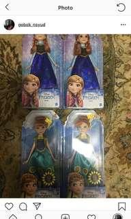Anna frozen dolls