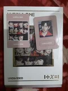 Wanna One Undivided Album Daniel Set