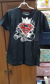Oversized Supergirl T-shirt