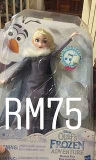 Frozen doll with music