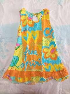 Jams World Yellow Pattern Dress