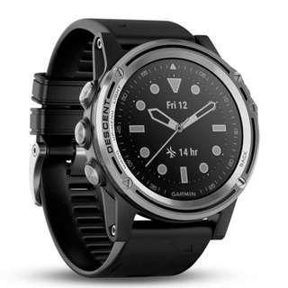 Garmin Descent Mk1 51mm Sapphire GPS Diving Watch ( Silver - 010-01760-70 / Grey - 010-01760-71 ) [SEE DESCRIPTIONS]