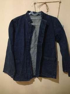Jaket Jeans Navy #oktosale
