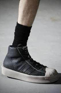 🚚 Rick owens x Adidas mastodon pro model 黑色