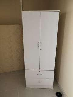wadrobe and tv console
