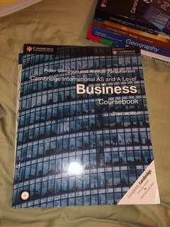 Cambridge AS and A level Business Coursebook