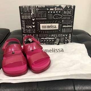 BNIB Mini Melissa Sandals