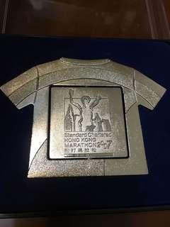 渣打馬拉松紀念牌 2007