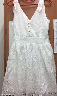 Airspace White Lace Dress