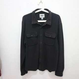 Kemeja Old Navy Black (Outer)