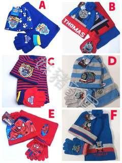 小童頸巾3件套裝