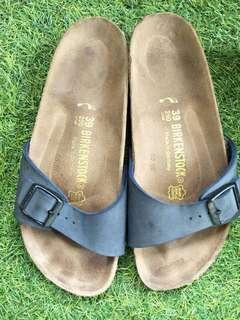 Birkenstock madrid navy sandals