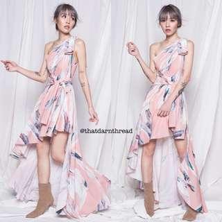 YHF Wrap Dress in Pink
