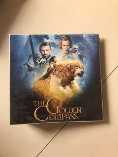 Tempat dvd atau cd file holder karakter golden compasa