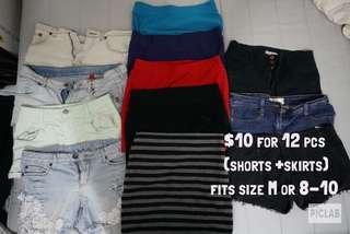Skirts + Shorts