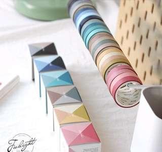 Coloured washi tapes!!